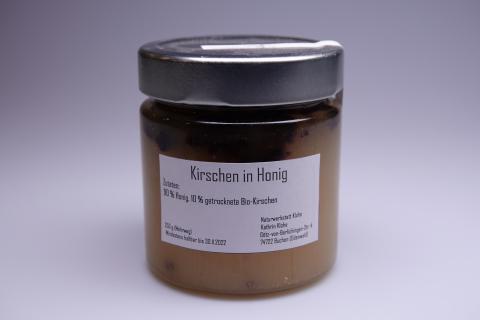 Honigkreation - Honig mit getrockneten Kirschen