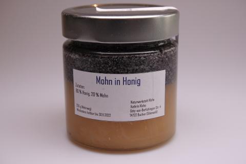 Honigkreation - Honig mit Mohn