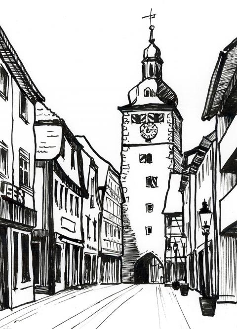Buchen Marktstr.
