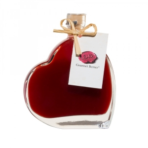 Erdbeer Limes Likör, 16% vol., 0,1l Herzflasche