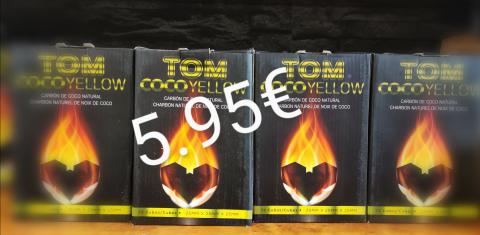 Tom Coco Gold Shisha Kohle 1kg