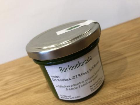 Bärlauchpaste (70g)