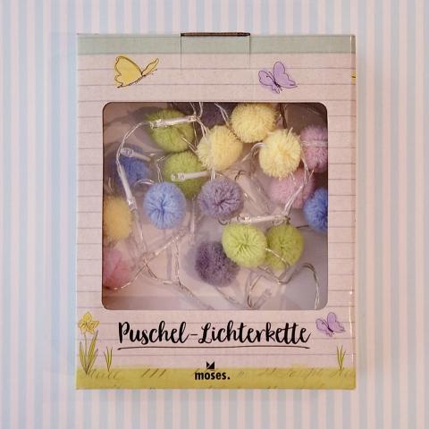 Puschel-Lichterkette