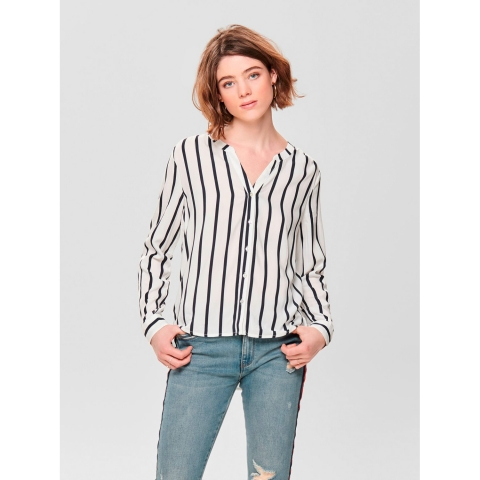 ONLY Bluse gestreift