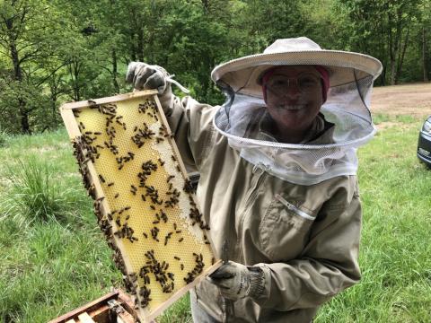 "Bienenpatenschaft ""Sei wie Maya"""