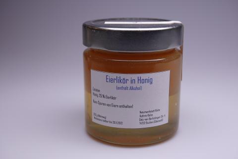 Honigkreation - Honig mit Eierlikör