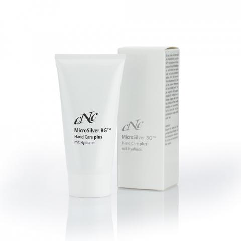 CNC  MicroSilver BG Hand Care plus mit Hyaluron, 50 ml