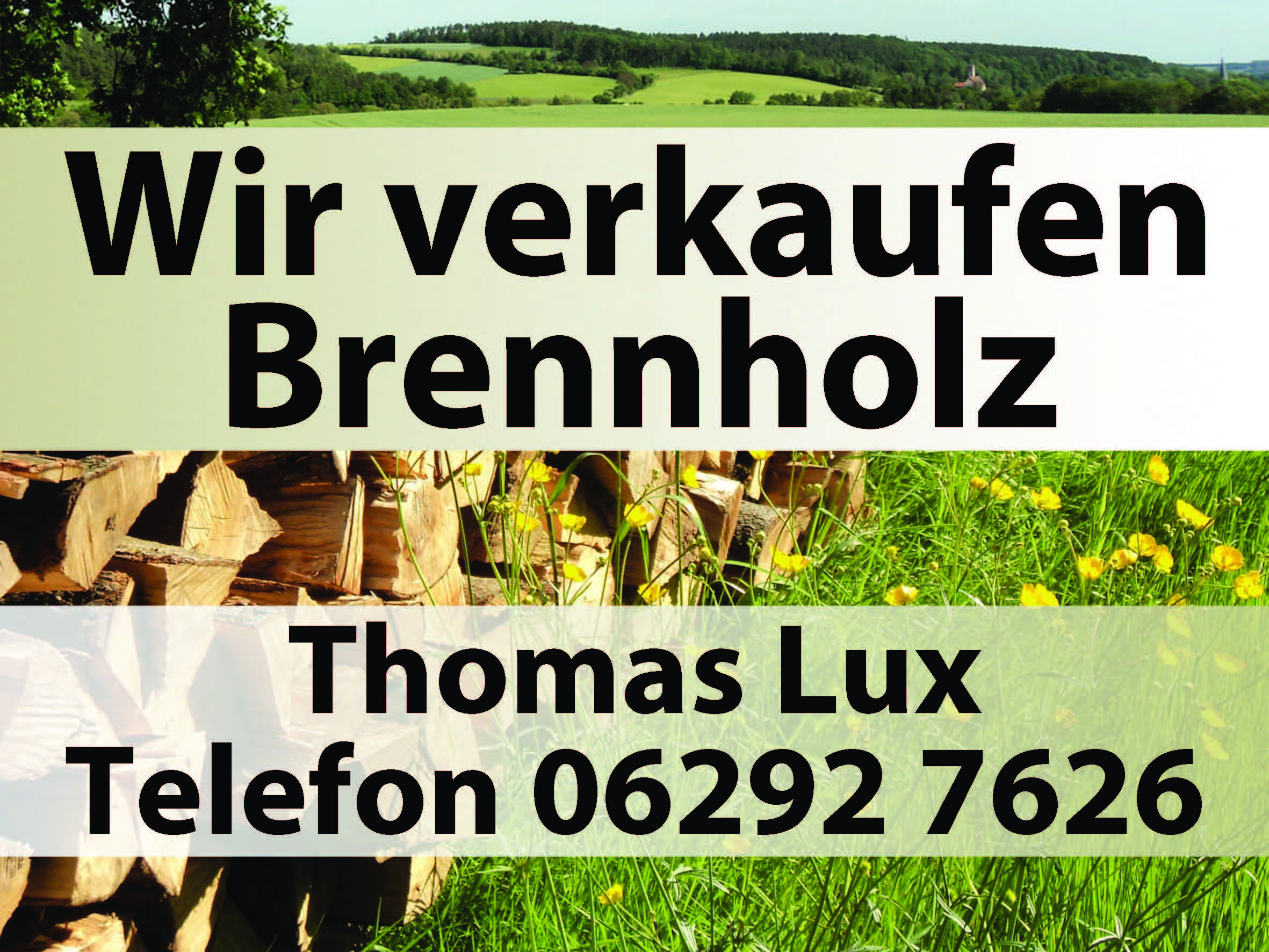 Brennholzverkauf Thomas Lux