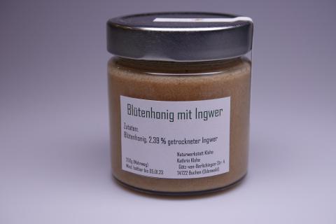 Honigkreation - Honig mit Ingwer