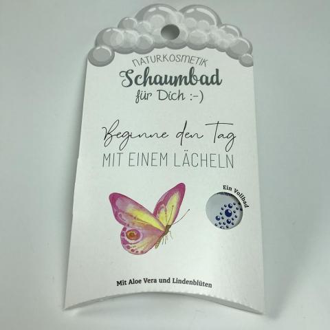 Naturkosmetik-Schaumbad