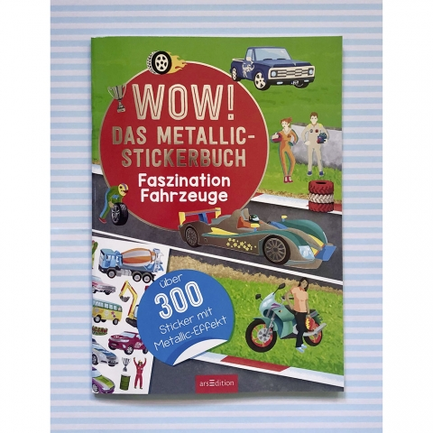 Wow! Metallic-Stickerbuch