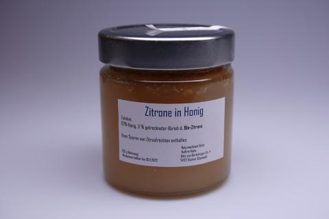 Honigkreation - Honig mit Zitrone